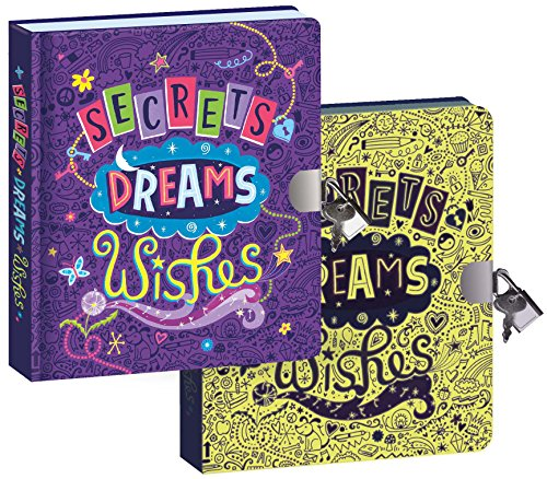 Peaceable Kingdom / Secrets, Dreams And Wishes Glow In The Dark Lock & Key Diary front-709835