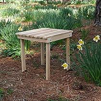 Cypress Adirondack Side Table