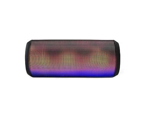 PISnet de haut-Parleur Portable Bluetooth intégré pour micro et bouton décrocher/raccrocher-Batterie Rechargeable LED New