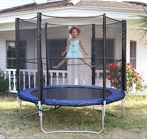 Trampolin Fliegender Spaß im Garten! Mit diesem tollen Trampolin können Kinder ihre Körperbeherrschung und den Gleichgewichtssinn trainieren Dimensionen Ø ca. 250 cm; günstig online kaufen