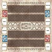 おもちゃの神様 カード ラバープレイマット 聖なる神殿 ペンデュラムゾーンあり! 60×60cmサイズ 厚さ 2mm の特大サイズ! これ1枚で二つのデュエルフィールドを用意! プレイマットについにペンデュラムゾーンを追加! アニメを再現し、決めろペンデュラム召喚! 遊戯王