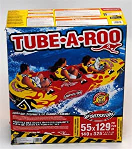 Sportsstuff Tube-A-Roo 3 Inflatable Towable - 3-Person Capacity