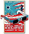 Eclipse Glasses for the Great American Eclipse 2017 (5 Pack) - CE & ISO Certified - Includes Commemorative Poster