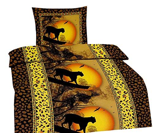leopard bettw sche online kaufen. Black Bedroom Furniture Sets. Home Design Ideas