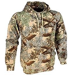 King\'s Camo Cotton Hunting Hoodie, Desert Shadow, Medium