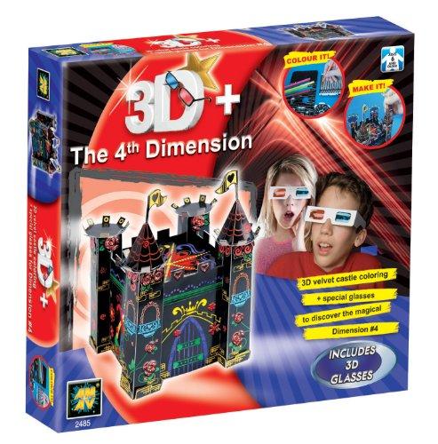 Diamant The 4th Dimension 3D Castle Craft Set - 1