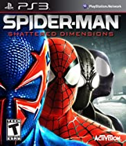 Games Spider-Man: Shattered Dimensions is an action-packed adventure encompassing four dramatically different parallel universes, each with its own Spider-Man armed with unique strengths. Each stunning universe has its own detailed art design and thrilling gameplay with challenging skill sets to master in order to unlock powerful new moves.