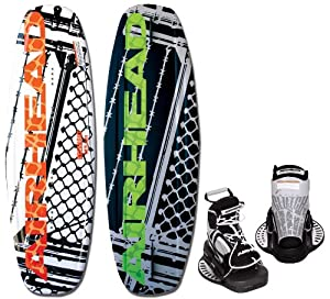 Buy AIRHEAD AHW-3014 Grafitti City Wakeboard with Clutch Bindings by Airhead