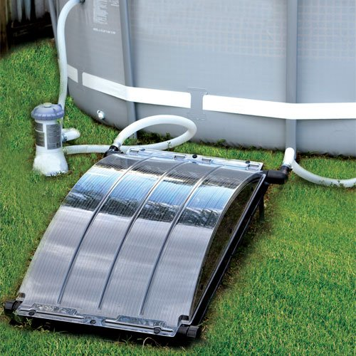 Solar arc solar pool heater for Swimming pool heaters
