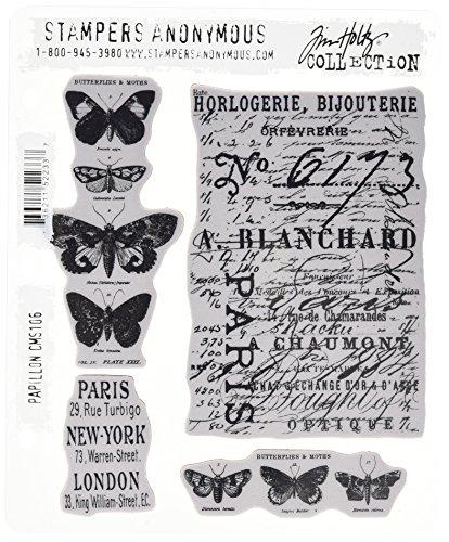 tim-holtz-set-di-timbri-in-gomma-177-x-215-mm-tema-farfalle
