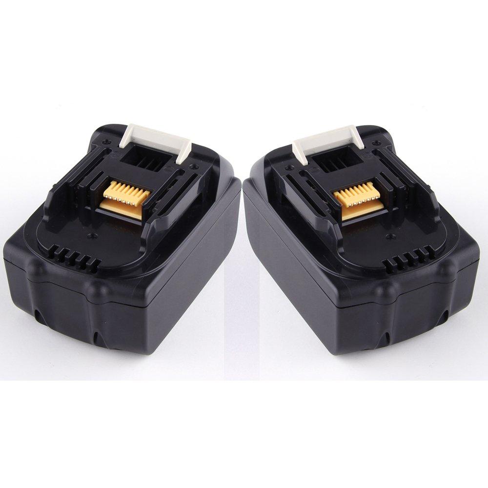 2X ATC 18V 3000mAh Liion Wiederaufladbarer Werkzeugakku Ersatzakku Akkupack für Makita BCL180Z,BCL180ZW,BCL182Z,BCS550,BDF456Z,BGA452,BGA452Z,BHR202,BJR181,BJV180,BML184(FlashLight),BML185,BML801,BSS501,BSS610Z,BTD140,BTW251,BTW450,BUB182,BVC350Z  BaumarktÜberprüfung und Beschreibung