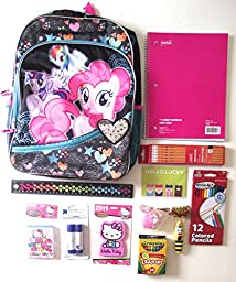 My Little Pony Backpack with School Supplies Value Bundle