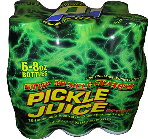 Pickle Juice Original Recipe Sport, 8 oz, 6 Pack (Pickles In Brine compare prices)