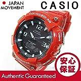 【P】CASIO(カシオ) AQ-S810WC-4A/AQS810WC-4A タフソーラー アナデジ レッド メンズ/ユニセックスウォッチ 腕時計 [並行輸入品]