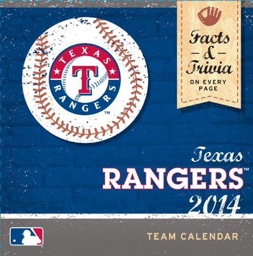 Turner – Perfect Timing 2014 Texas Rangers Box Calendar (8051241)