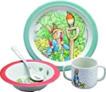 Peter Rabbit Four Piece Dinner Set