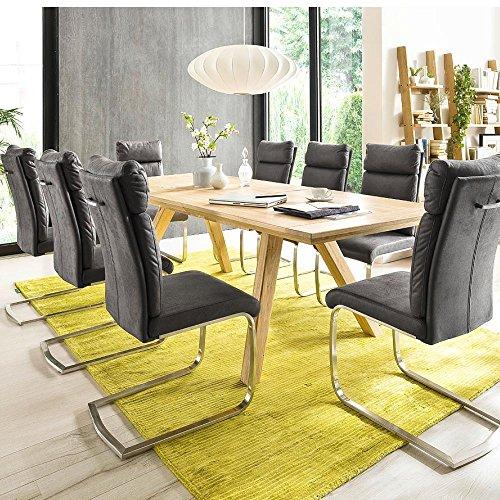 preisvergleich esstisch lauris mca eiche bianco massiv. Black Bedroom Furniture Sets. Home Design Ideas