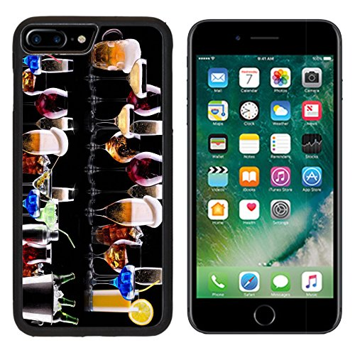 MSD Premium Apple iPhone 7 Plus Aluminum Backplate Bumper Snap Case IMAGE ID: 28226936 different alcohol drinks set beer wine cocktail juice champagne scotch soda (Fruit Champagne Soda compare prices)