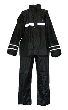 Protectwear motorradregenkombi rK-combinaison imperméable, noir, 2 pièces
