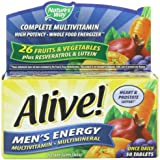 Alive Men's Energy Nature's Way 50 Tabs