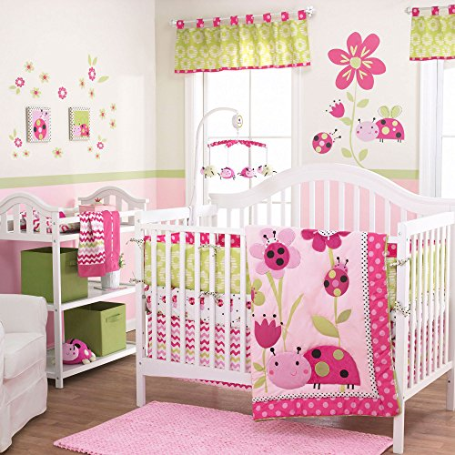 Lil Ladybug 3 Piece Baby Crib Bedding Set by Belle