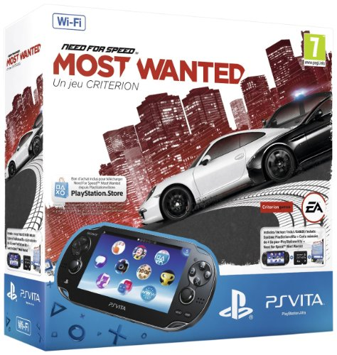 PlayStation Vita (WiFi) inkl.Need for Speed Most Wanted (Download Voucher) + 4GB Memory
