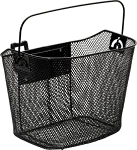 Bell Sports 1006953 Quick Release Handlebar Basket (Black)