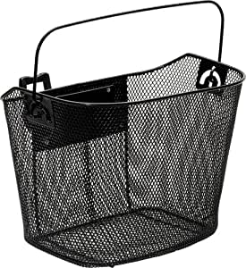 Bell Sports 1006953 Quick Release Handlebar Basket (Black)