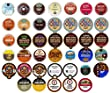 Crazy Cups Single Serve Cups for Keurig K cup Brewer Variety Pack sampler