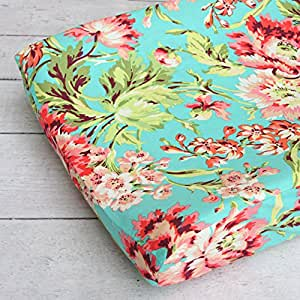 Amazon.com : Changing Pad Cover - Coral Camila : Baby