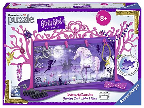Ravensburger-12069-Puzzle-Girly-Girl-Arbre-Bijoux-Licorne-108-pices