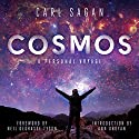 Cosmos Audiobook by Carl Sagan Narrated by Seth MacFarlane, LeVar Burton, Neil deGrasse Tyson, Ann Druyan