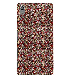 Abstract Painting 3D Hard Polycarbonate Designer Back Case Cover for Sony Xperia Z5 Premium (5.5 Inches) :: Xperia Z5 Plus