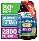 Best Garcinia Cambogia Extract for Weight-Loss :: Raw 80% HCA - 120 Count★ LOSE WEIGHT OR YOUR MONEY BACK ★ Natural Pure Fruit Extract. Clinically Proven with Highest Potency! Premium Supplements to Lose Belly Fat Fast. Ultra Powerful Fat Burner and Appetite Suppressant Formula without fillers. Effective Diet Pills for Women and Men that Works Fast to Get Rid of Your Belly Fat. Backed by AMAZON GUARANTEE