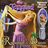 Disney Tangled: Rapunzels Dream Storybook with Musical Hairbrush