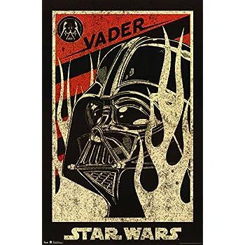 Star Wars Darth Vader Propaganda Movie Poster 22 x 34in