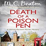 Death of a Poison Pen: Hamish Macbeth, Book 19   M. C. Beaton