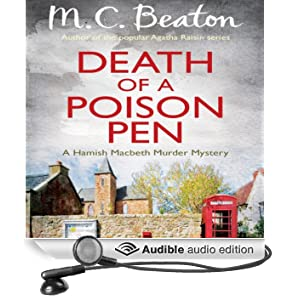 Death of a Poison Pen: Hamish Macbeth, Book 19 (Unabridged)