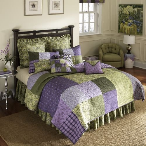donna-sharp-vineyard-square-100-percent-cotton-twin-quilt-purple-green-by-donna-sharp-inc