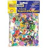 SEQUINS/SPANGLES,4OZ,AST