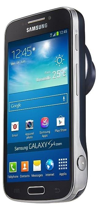 Samsung Galaxy S4 Zoom Smartphone débloqué (4.3 pouces - 8 Go) Noir (import Espagne)