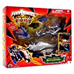 Power Ranger Jungle Fury Animal Vehicles with Figure - Jungle Predator Battlecruiser