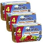 B�b� Nestl� Naturnes Pommes Framboise...