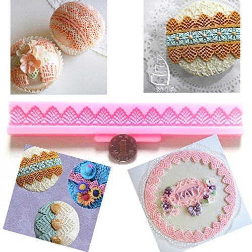 3D Silicone Lace Fondant Cake Chocolate Mold Mould DIY Cake Decoration (Crazy Monkey Baking compare prices)