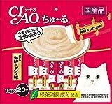 チャオ (CIAO) CIAOちゅ~る まぐろ 海鮮ミックス味 14g×20本入り