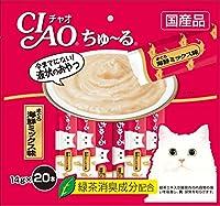 チャオ (CIAO) ちゅ~る まぐろ 海鮮ミックス味 14g×20本入り