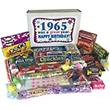 '60s Retro Candy Decade 50th Birthday Gift Box Jr. Nostalgic Candy 1965