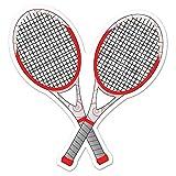 Beistle Tennis Racquets Cutout, 12.5