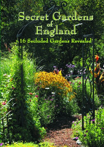 Secret Gardens of England-Brantwood, Brook Cottage, Kensington Roof Garden, Overbecks, Akenfield, Calke Abbey, Cobblers, Hastercombe House, Castle T