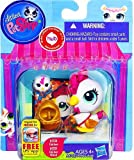 Chicken and Chicken Friend Littlest Pet Shop Favorite Pets #3338 / #3339 Figures